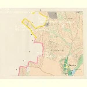 Mietschin - c4578-1-003 - Kaiserpflichtexemplar der Landkarten des stabilen Katasters