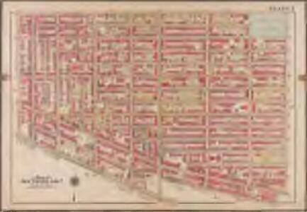 Plate 7: [Bounded by Lafayette Avenue, Marcy Avenue, Greene Avenue, Tompkins Avenue, Fulton Street, Brooklyn Avenue, Herkimer Street, Bedford Avenue, Atlantic Avenue & Washington Avenue]; Atlas of the borough of Brooklyn, city of New York: from actual surveys and official plans by George W. and Walter S. Bromley.