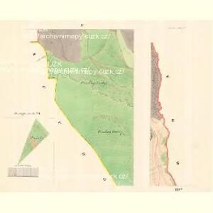 Slawkow - m2776-1-005 - Kaiserpflichtexemplar der Landkarten des stabilen Katasters