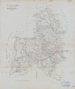 Mapa planimètric de Riba-Roja