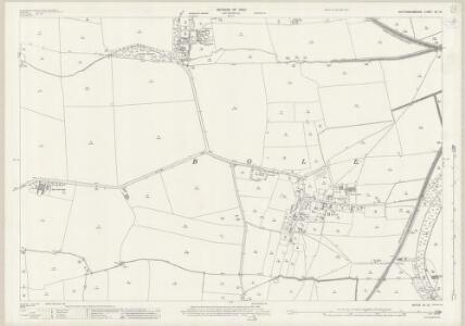 Nottinghamshire VII.15 (includes: Bole; North Wheatley; Saundby; West Burton) - 25 Inch Map