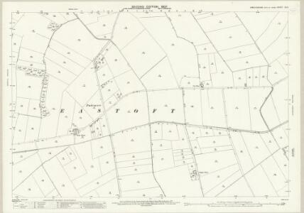 Lincolnshire IX.12 (includes: Amcotts; Crowle; Eastoft; Luddington) - 25 Inch Map