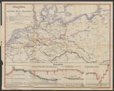 Übersichtskarte der norddeutschen Wasserstrassen
