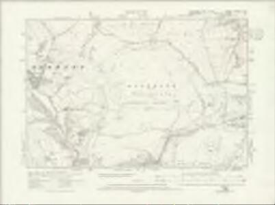 Yorkshire CCXCIII.NW - OS Six-Inch Map