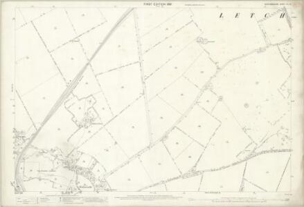 Hertfordshire VII.14 (includes: Hitchin Urban; Letchworth; Wymondley) - 25 Inch Map