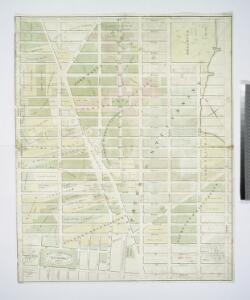 Map of the real estate in the city of New York : between the south side of Washington Parade, 4th St., and the north side of Bellevue, 28th Street / compiled from authentic documents by Edwin Smith, city surveyor, 1831 ; engd. by D.R. Harrison.