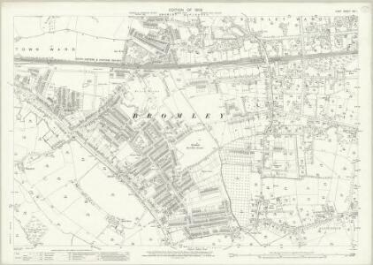 Kent XVI.1 (includes: Bromley) - 25 Inch Map