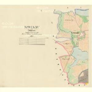 Kossau - c3364-1-001 - Kaiserpflichtexemplar der Landkarten des stabilen Katasters