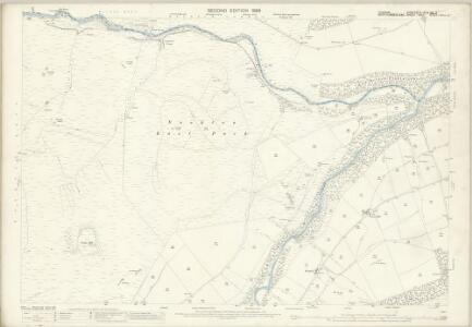Durham XVI.3 (with extension IX.15) (includes: Hunstanworth; Shotley High Quarter) - 25 Inch Map
