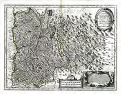 Carte et description generale de Davphiné