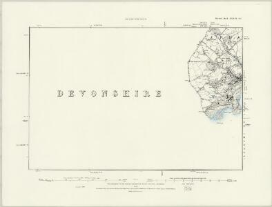 Dorset XXXV.NE - OS Six-Inch Map