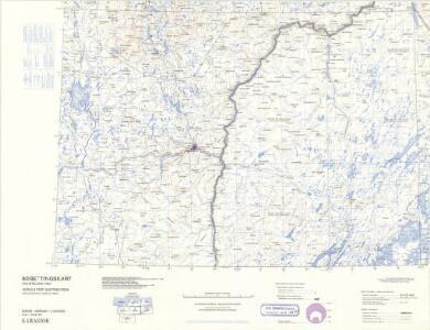 Statistikk 43-28-2: Bosettingskart over Karasjok. Blad 28