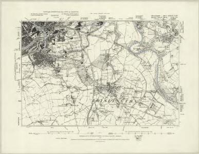 Gloucestershire LXXVI.SE - OS Six-Inch Map