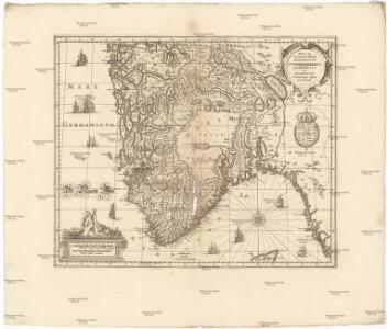 Nova et accurata tabula episcopatvvm Stavangriensis, Bergensis et Asloiensis