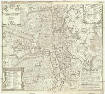 Plan de la ville, favxbovrgs et dependances de Troyes capitale de Champagne