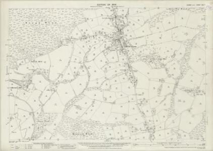 Sussex XXX.7 (includes: Etchingham; Salehurst) - 25 Inch Map