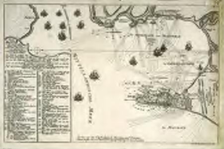 Abriss der Stadt Gibraltar u. den darin befindlichen festen Pläze, nebst dem Meerbusen von Algesiras