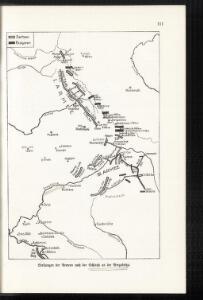 Stellungen der Armeen nach der Schlacht an der Bregalnica
