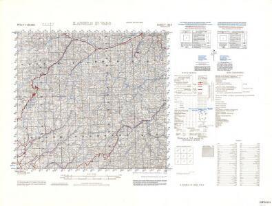 Italy 1:50,000 GSGS4229 (AMS M791), S. Angelo In Vado