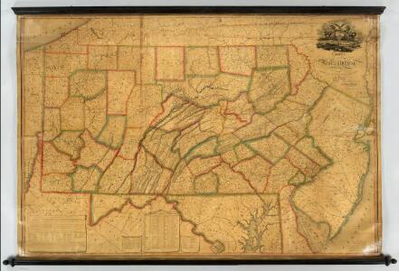 Map of Pennsylvania.