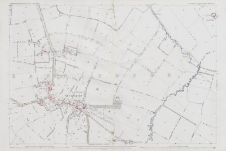 Wiltshire VI.13 (includes: Hannington; Highworth) - 25 Inch Map