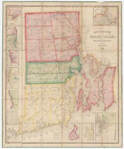 Map of the State of Rhode Island and Providence Plantations : from surveys