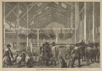 The New Foreign Cattle Market, the Central Shed, Deptford