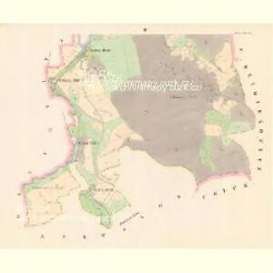 Zahorz (Zahořj) - c9056-1-002 - Kaiserpflichtexemplar der Landkarten des stabilen Katasters