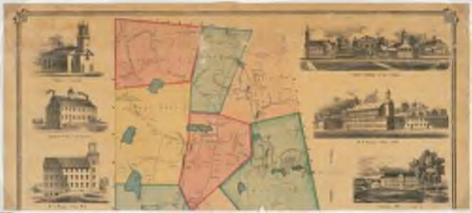 Map of the town of Leicester, Worcester County, Massachusetts : from actual survey : Northern sheet