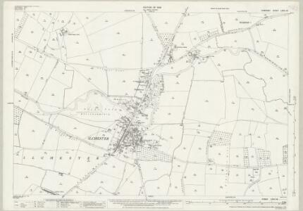 Somerset LXXIII.16 (includes: Ilchester; Kingsdon; Limington; Yeovilton) - 25 Inch Map