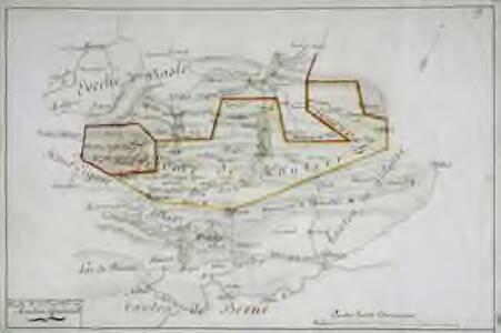 Carte de la prévoté de Moutier Grandval