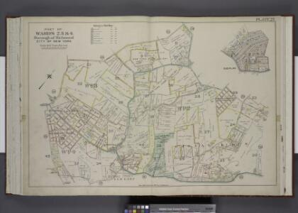 Part of Wards 2, 3, & 4. [Map bound by Forest Hill    Road, New Road, Willow Brook Road, Manor Road, Ocean Terrace, Richmond Road,     Amboy Road, Fresh Kills Road, Richmond Hill Road; Sub Plan - Summit Ave, Beacon  Ave, Grand Ave, Walden PL, Pleasant
