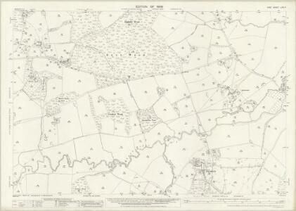 Kent LXIX.4 (includes: Goudhurst; Horsmonden; Lamberhurst) - 25 Inch Map