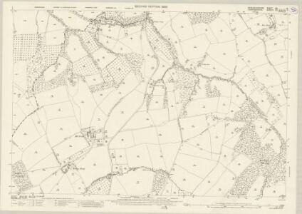 Worcestershire XIX.13 (includes: Bockleton; Kyre; Laysters; Tenbury) - 25 Inch Map