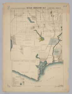 Compton.  Detail Irrigation Map.