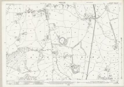 Shropshire XIX.6 (includes: Oswestry Rural; Oswestry Urban) - 25 Inch Map