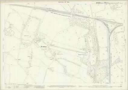 Middlesex IX.11 (includes: Denham; Uxbridge) - 25 Inch Map
