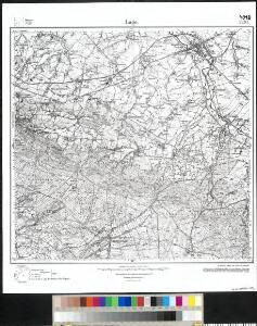 Meßtischblatt 2220 : Lage, 1937