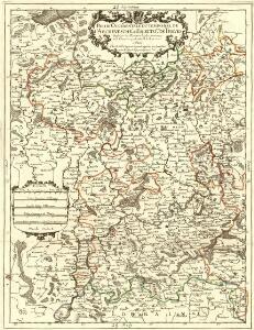 Partie Occidentale Du Temporel De L'Archevesché et Eslectorat De Treves