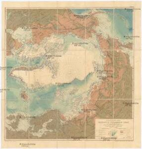 Fysikální mapa severních polárních zemí
