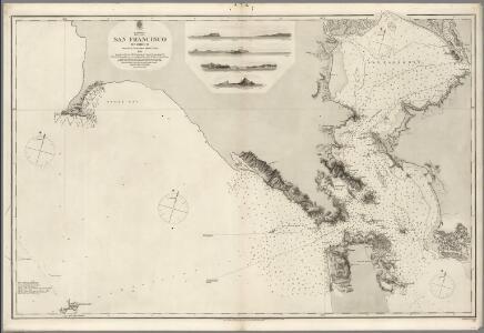 San Francisco Harbour Surveyed by Lieut. James Alden U.S. Navy 1856