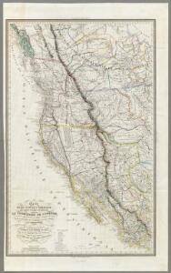 Carte De La Cote De L'Amerique.