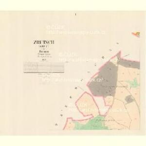 Zrutsch (Zruč) - c9294-1-001 - Kaiserpflichtexemplar der Landkarten des stabilen Katasters