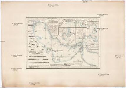Reduzirte-Karte vom PERSISCHEN GOLF