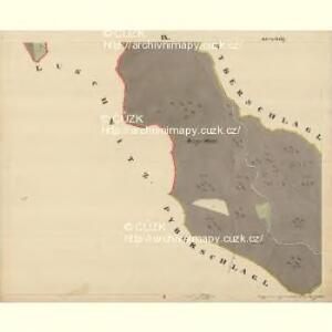 Beneschau - c0113-2-009 - Kaiserpflichtexemplar der Landkarten des stabilen Katasters