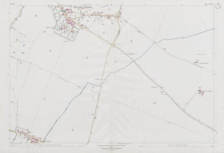 Wiltshire XXII.10 (includes: Broad Hinton; Winterbourne Bassett) - 25 Inch Map