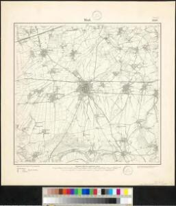 Meßtischblatt 2508 : Werl, 1897