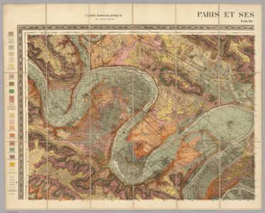 Nord-Ouest: Paris Et Ses Environs.