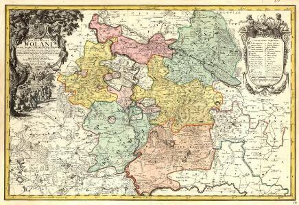 Principatvs Silesiae Wolani in suos Circulos, Wohlav, Wintzig, Herrnstadt, Rützen, Steinav und Ravden divisi