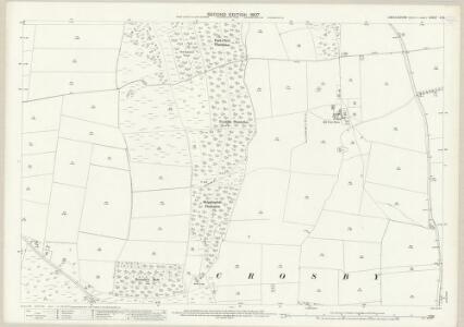 Lincolnshire X.15 (includes: Flixborough; Scunthorpe) - 25 Inch Map